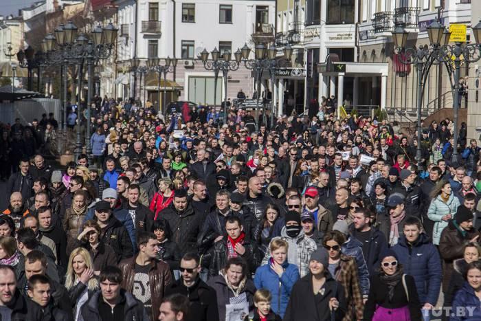 Акция протеста в Бресте. Фото: Станислав Коршунов, TUT.BY
