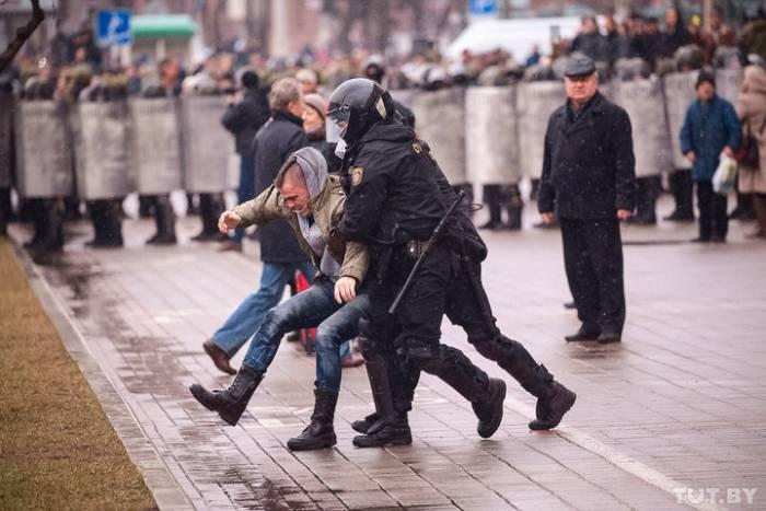 День Воли в Минске. Фото: Дмитрий Брушко, tut.by