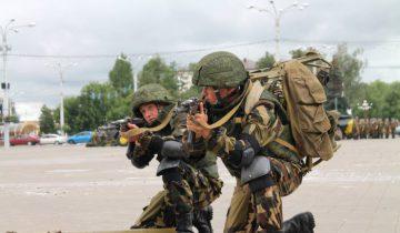 День десантника в Витебске в августе 2016 года. Фото Аня щербицкая