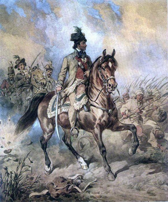 Портрет Тадеуша Костюшко на коне кисти Юлиуша Коссака. Фото publicDomain