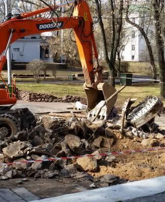 В парке Фрунзе появится новый фонтан