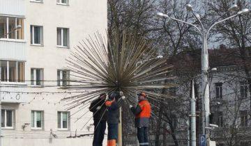 """Пока что фонтан """"вырос"""" только один. Фото Анастасии Вереск"""
