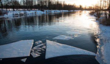 Лед тронулся! Фото Ольга Витебская