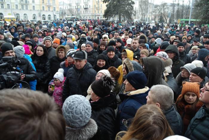 """""""Марш  нетунеядцев"""" в Витебске. Фото Ольга Витебская"""