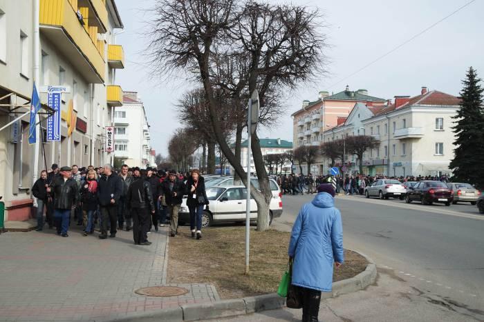 Не все жители города понимали, что происходит. Фото Анастасии Вереск