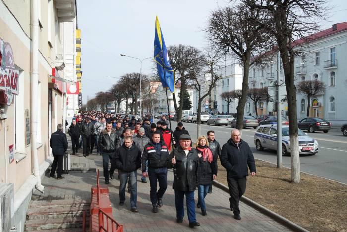 В марше участвовало около тысячи человек. Фото Анастасии Вереск