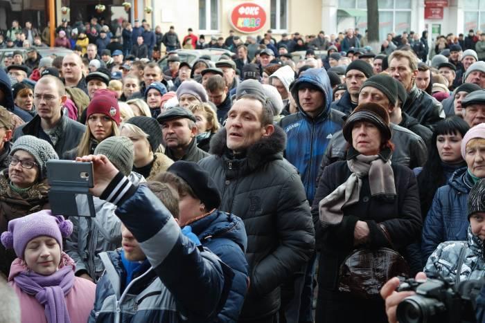 Участники акции. Фото Анастасии Вереск