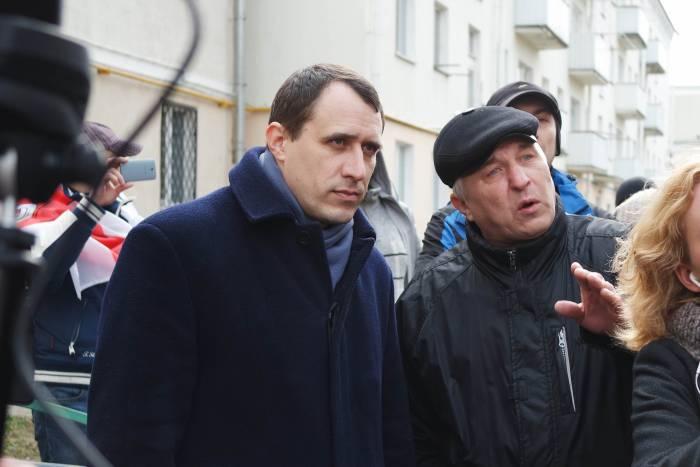 Павел Северинец заявил, что 15 марта в протесте будут участвовать десятки тысяч людей. Фото Анастасии Вереск