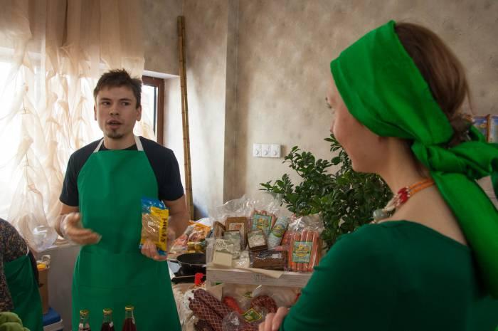 Михаил рассказал, что вегетарианская диета не мешает активно заниматься спортом. Фото Анастасии Вереск