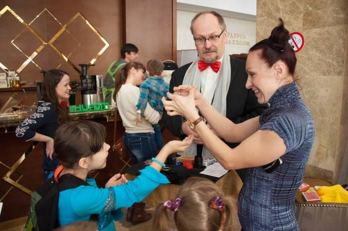 Фокуса для взрослых и детей. Фото Анастасии Вереск
