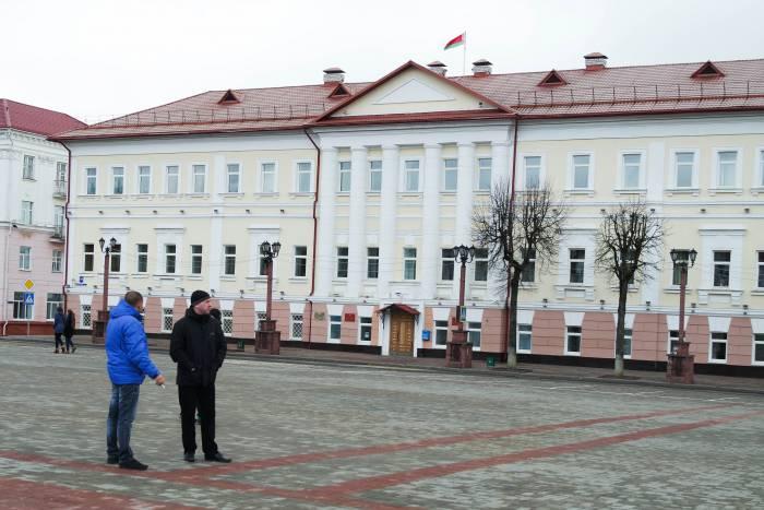Здание горисполкома в Полоцке. Фото Анастасии Вереск