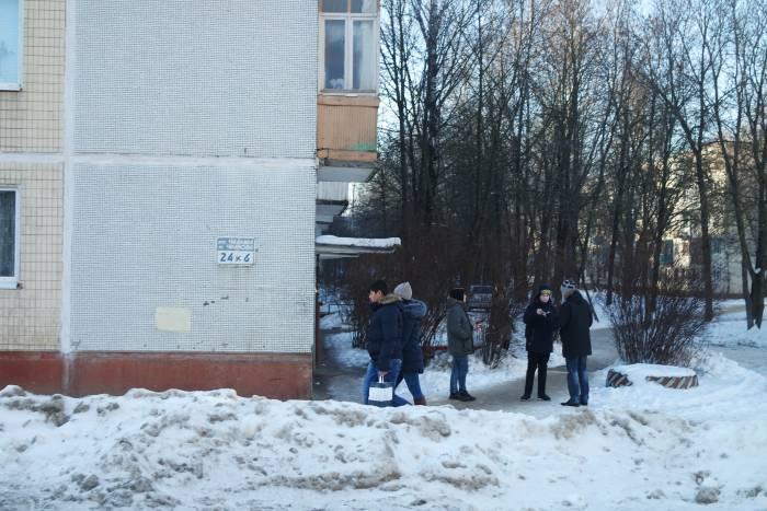 На улице Чкалова. Фото Анастасии Вереск