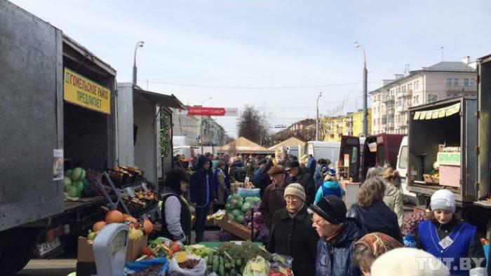Овощная ярмарка в Гомеле. Фото: tut.by