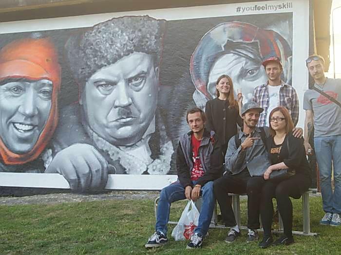 граффити самогонщики