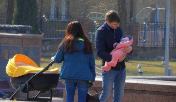 Выходные с семьей в городе. Фото Светланы Васильевой