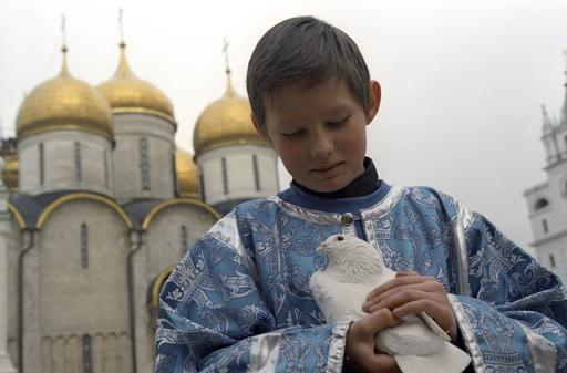 В этот день на свободу отпускают голубей. Фото m.e1.ru