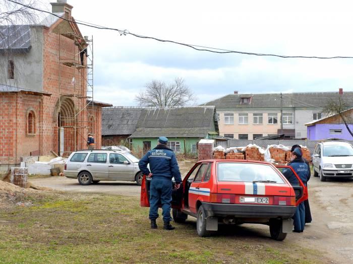 Возводится новый храм Святого великомученика Дмитрия Солунского. Фото Светланы Васильевой
