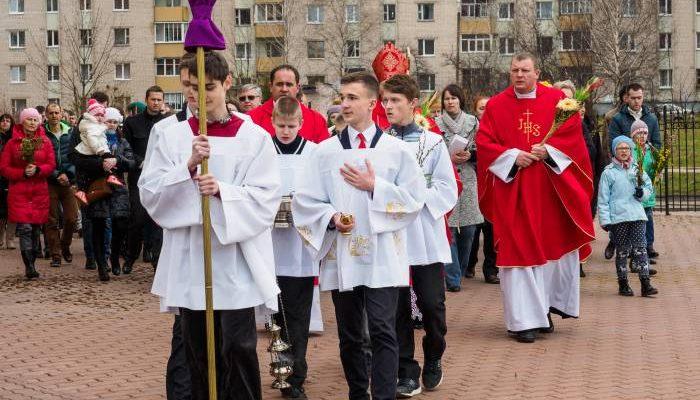 католики вербное воскресенье