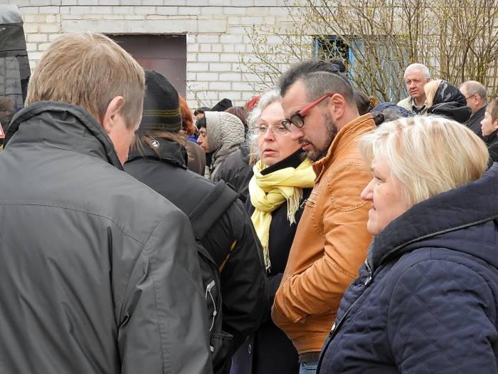 В Витебске попрощались с общественным деятелем и правозащитником Михаилом Павловым. Фото Светланы Васильевой
