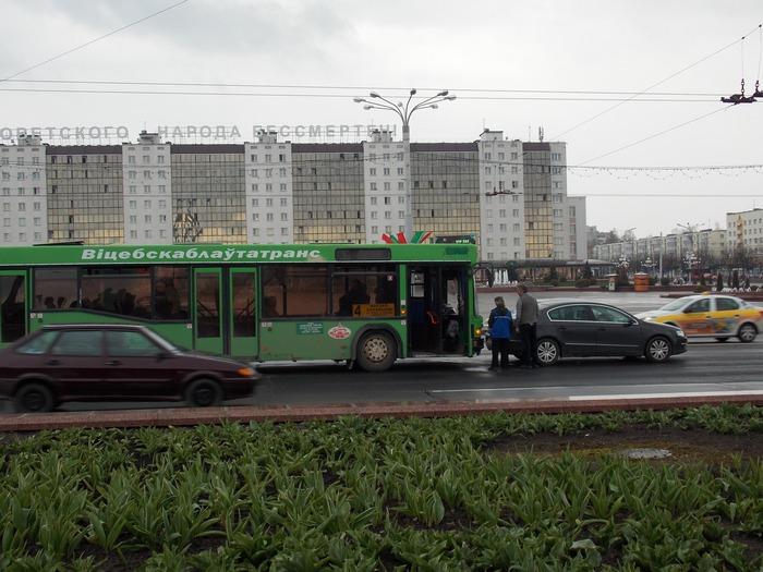Витебск, авария, ДТП, Фольксваген