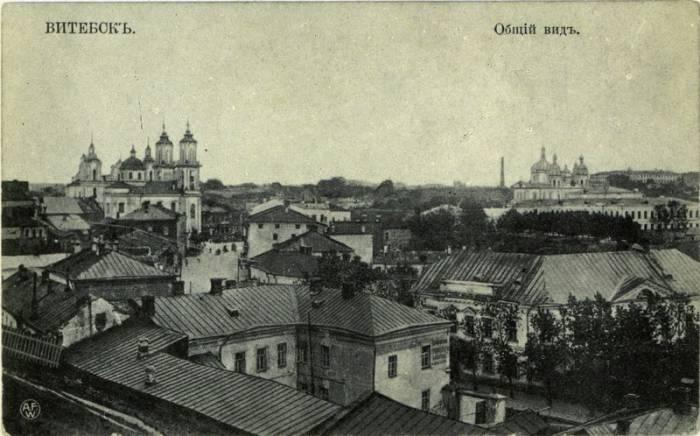 Витебск. Открытка начала ХХ века. Фото evitebsk.com