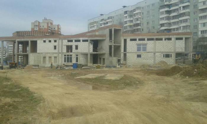 Будущий оздоровительный центр. Фото Саши Май