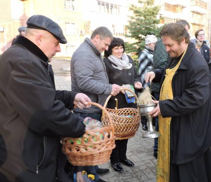 витебск, пасха, освящение