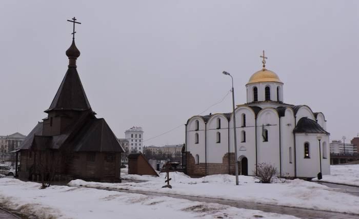 витебск, благовещенская церковь, храм Невского