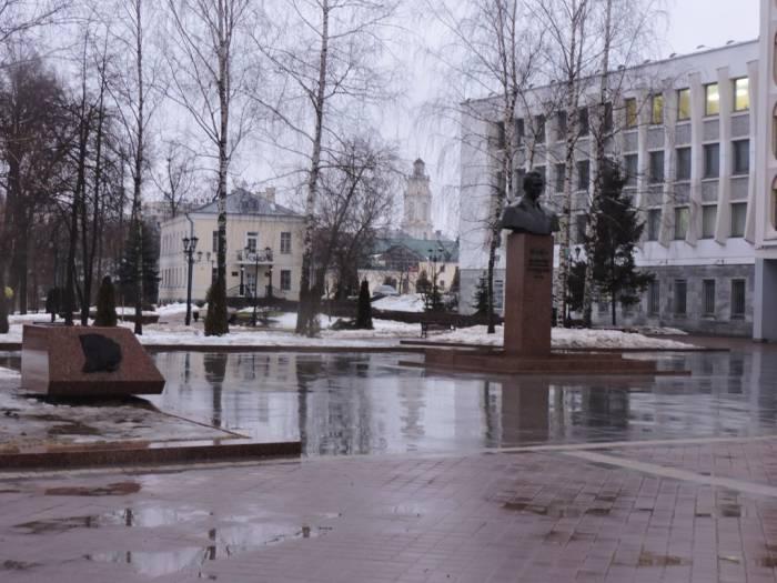 витебск, памятник, машеров