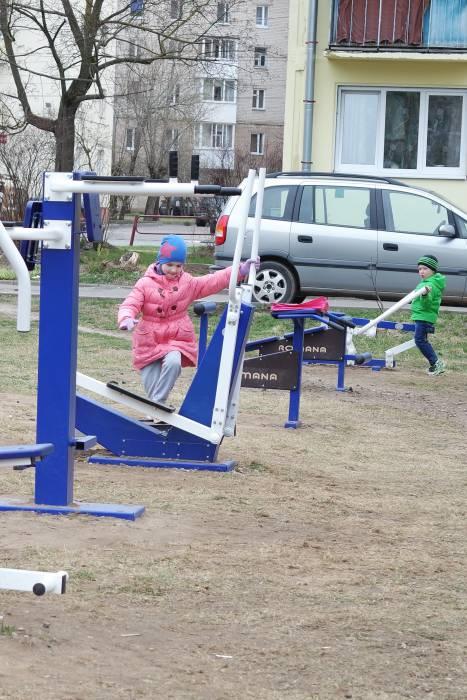 Детям нравится даже больше, чем обычные горки и качели. Фото Анастасии Вереск