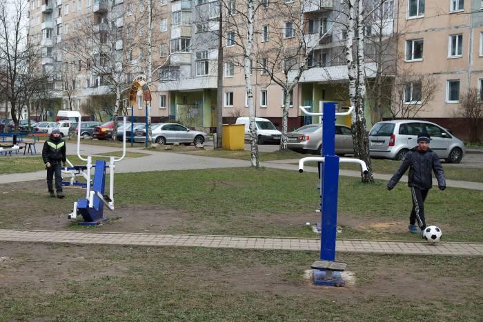 Теперь здесь можно не только играть в футбол. Фото Анастасии Вереск