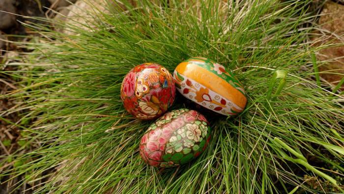 Крашеныеово яйца - символ новой жизни. Фото pixabay.com