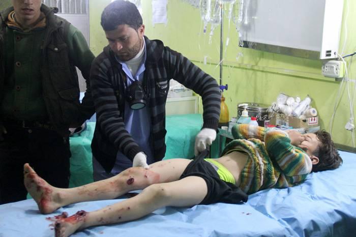 сирия химическая атака