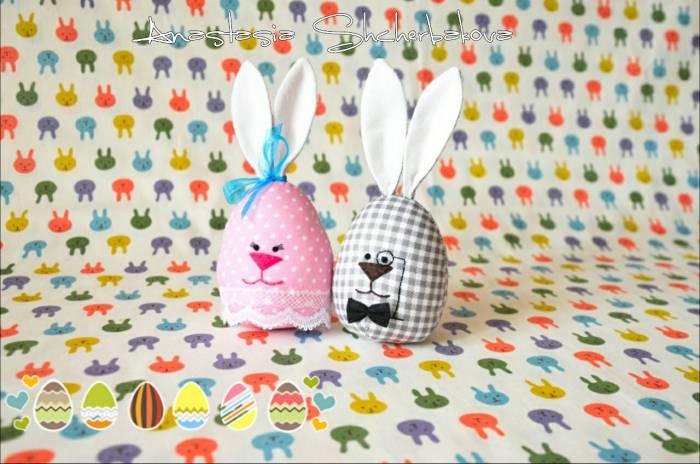 """Такими крольчатами можно украсить стол. Фото предоставлено творческой мастерской """"Детский текстиль. Витебск"""" (https://vk.com/club130899718)"""