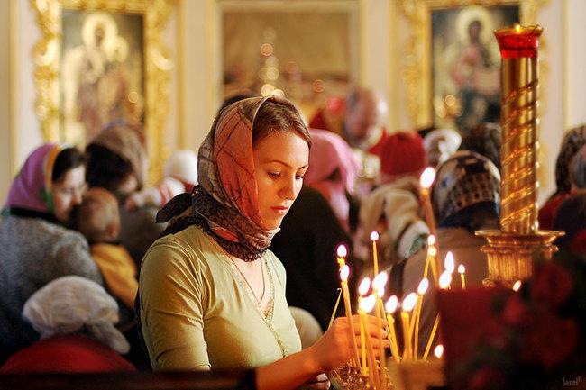 На Благовещение Пресвятой Богородицы нужно посетить храм. Фото dytyna.pp.ua