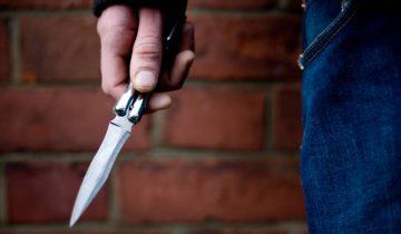 убийство нож