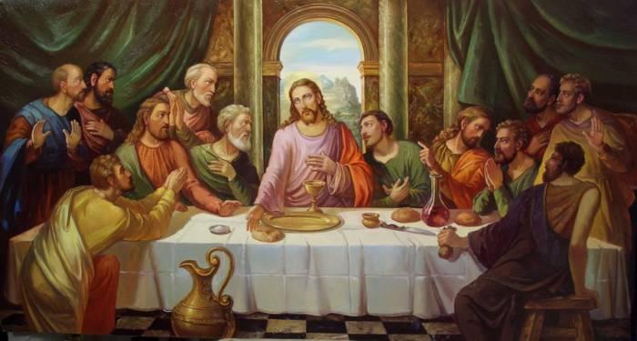 В четверг Иисус собрал учеников на Тайную вечерю. Фото crosti.ru