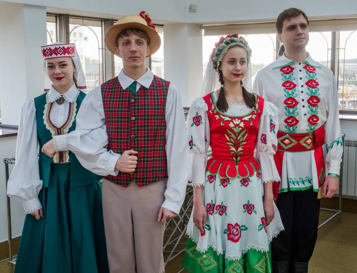 национальные костюмы Беларусь Латвия