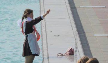 выпускница фонтан