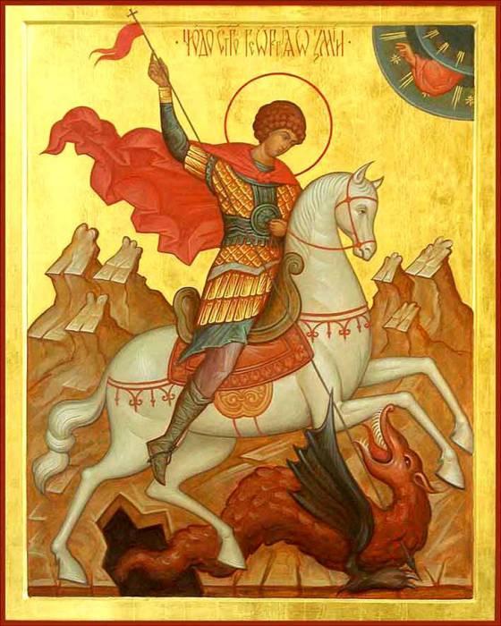 Икона святого Георгия Победоносца. Фото vozrosdenie.ru