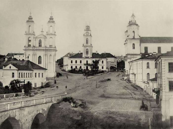 Иллюстрационное фото. Ратушная площадь 1867 года. Фото evitevsk.com