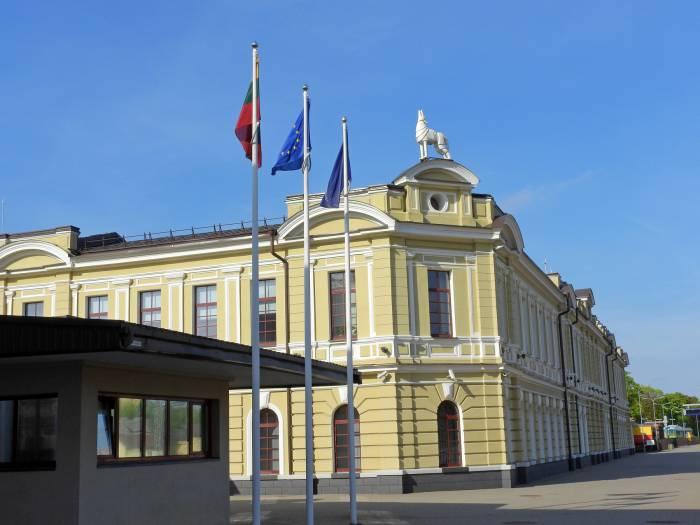 ж/д вокзал Вильнюс