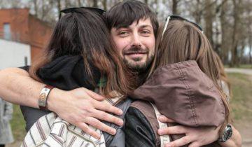 Александр Борозенко был отпущен на свободу 9 апреля. Фото svaboda.org