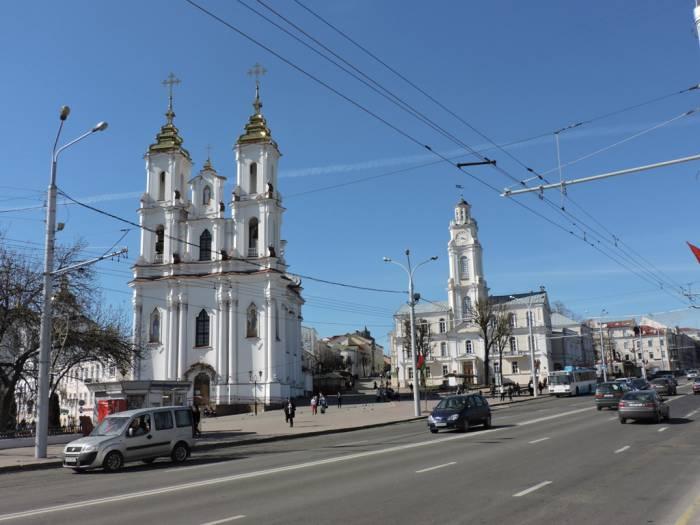 витебск, ратуша, центр