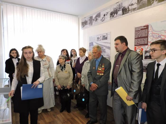 витебск, музей, блокадники, СШ№28