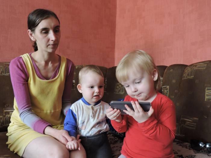 многодетная семья, витебск