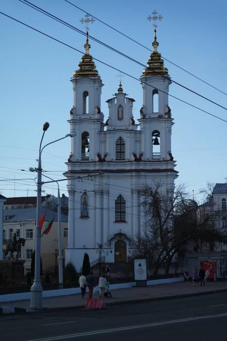 Храм Воскресения Христова в Витебске. Фото: Владимир Радюк