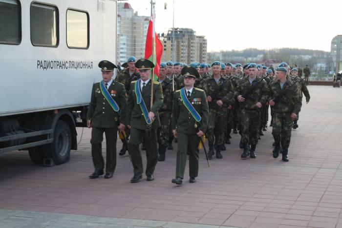 площадь Победы парад