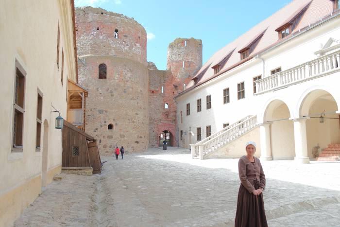 Замок Бауска в Латвии. Фото Анастасии Вереск