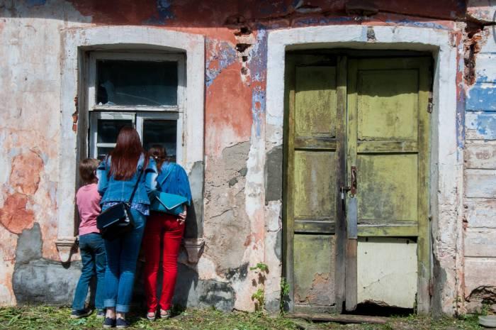 Самое интересное: что там, внутри усадьбы? Фото Анастасии Вереск